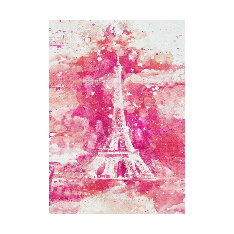 Artistic XLIV - Eiffel tower Paris Home Framed Fine Art Print by Abstract designs