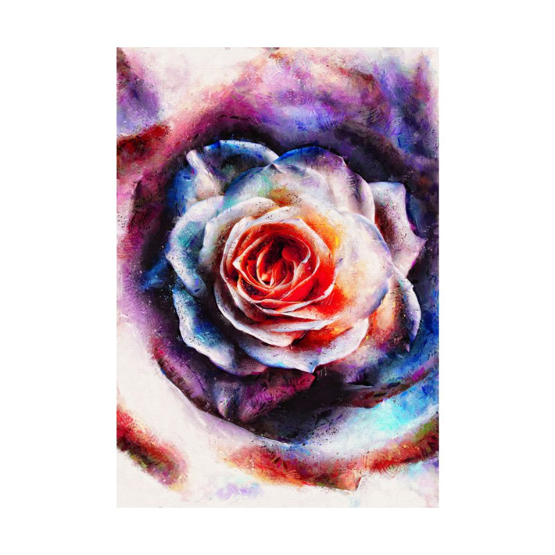Artistic - XXV - Abstract Rose Home Framed Fine Art Print by Abstract designs