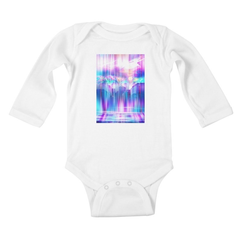 Artistic - XXIV - Without Limits Kids Baby Longsleeve Bodysuit by Abstract designs