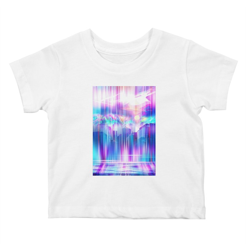 Artistic - XXIV - Without Limits Kids Baby T-Shirt by Abstract designs