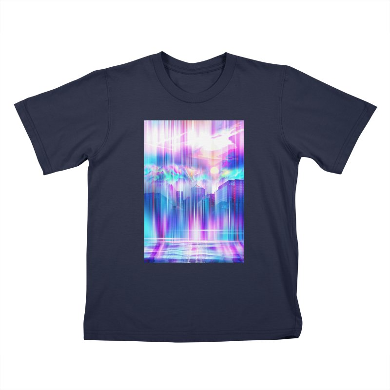 Artistic - XXIV - Without Limits Kids T-Shirt by Abstract designs
