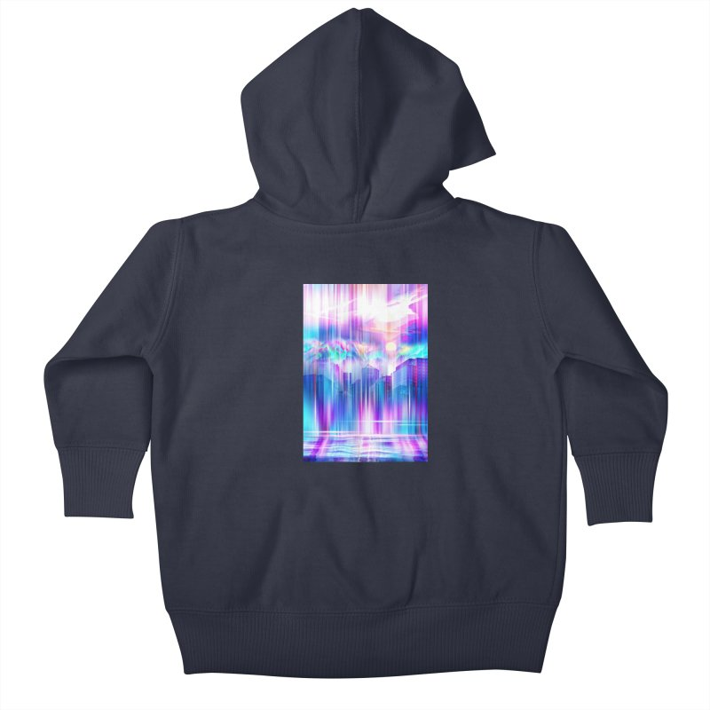 Artistic - XXIV - Without Limits Kids Baby Zip-Up Hoody by Abstract designs