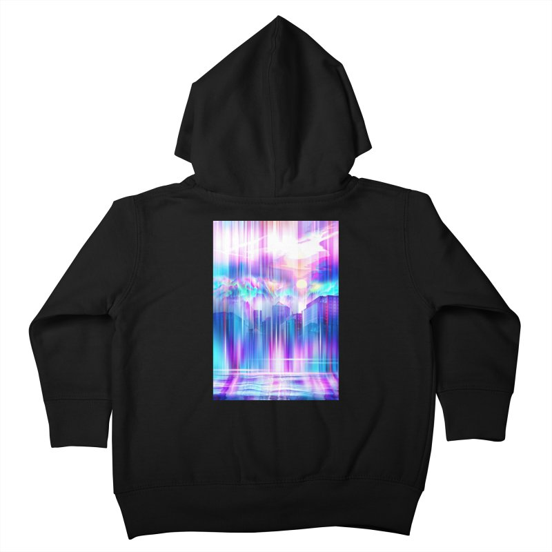 Artistic - XXIV - Without Limits Kids Toddler Zip-Up Hoody by Abstract designs