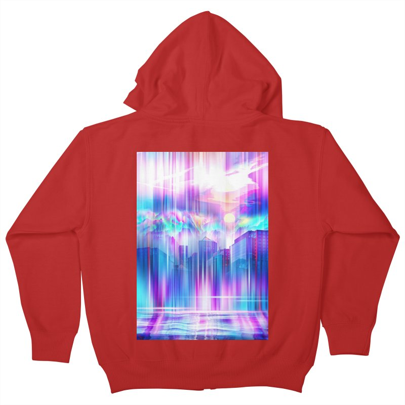 Artistic - XXIV - Without Limits Kids Zip-Up Hoody by Abstract designs