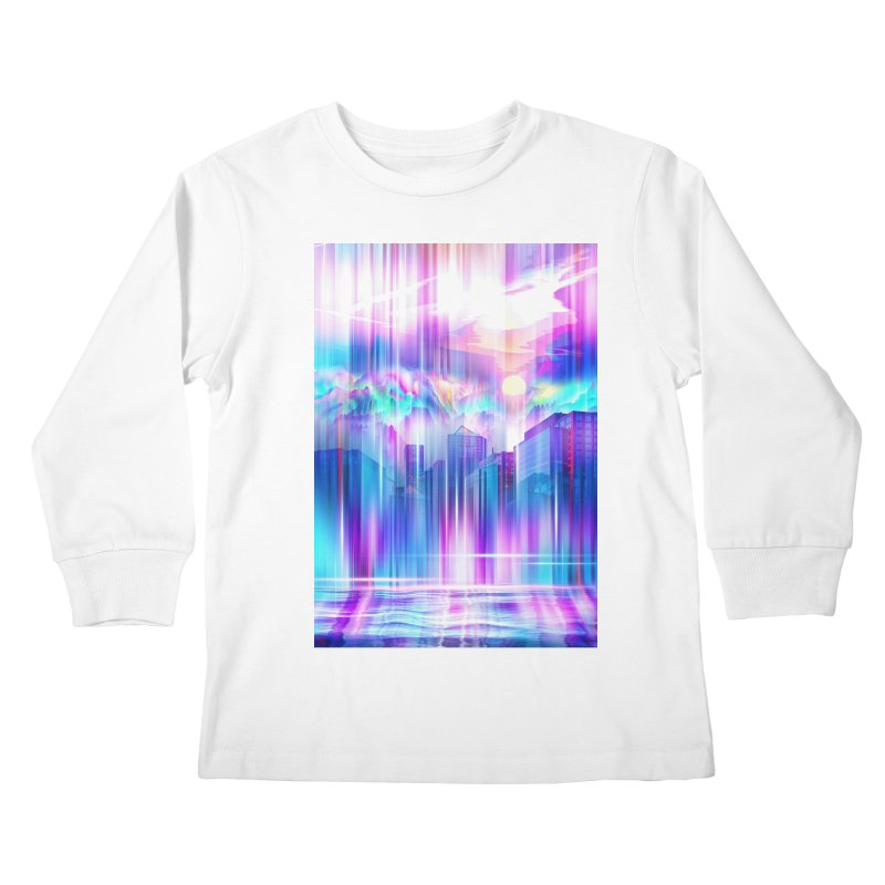 Artistic - XXIV - Without Limits Kids Longsleeve T-Shirt by Abstract designs