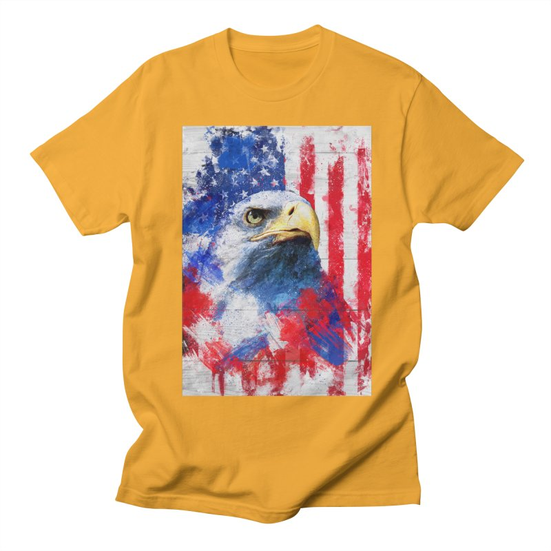 Artistic XLIII - American Pride Women's Unisex T-Shirt by Abstract designs