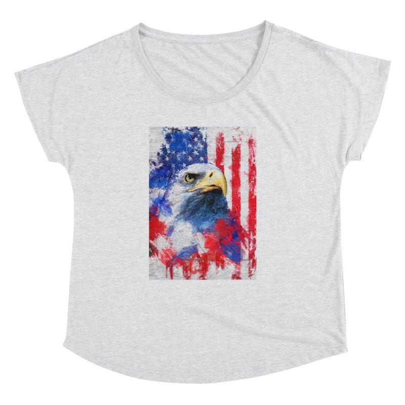 Artistic XLIII - American Pride Women's Dolman by Abstract designs