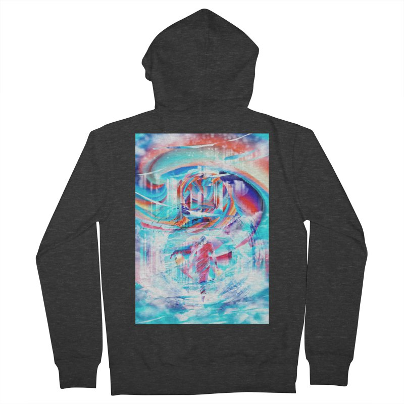 Artistic LXIV - Transcendence Women's Zip-Up Hoody by Abstract designs