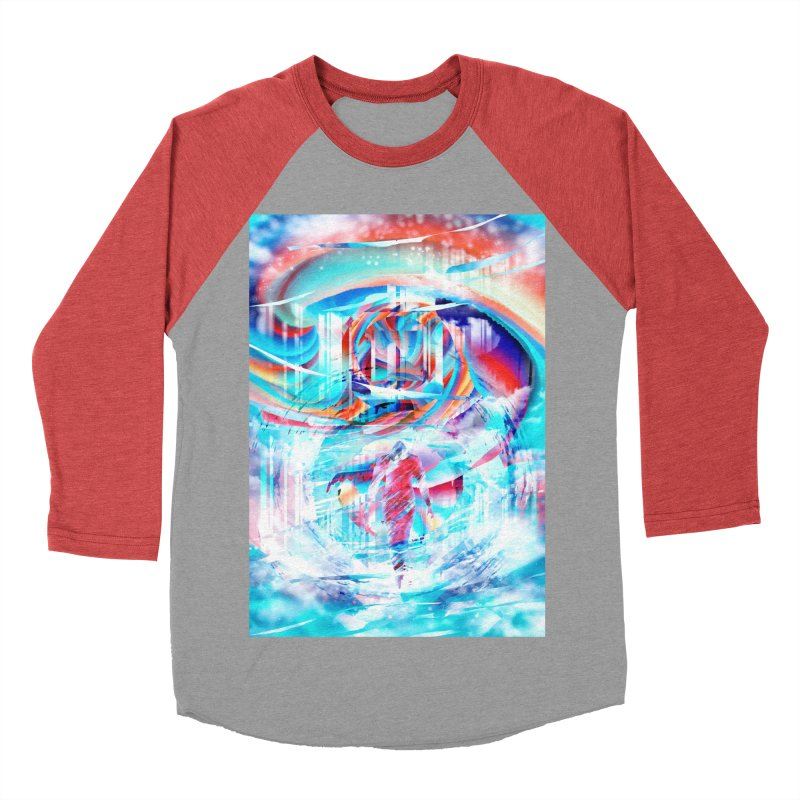 Artistic LXIV - Transcendence Women's Baseball Triblend T-Shirt by Abstract designs