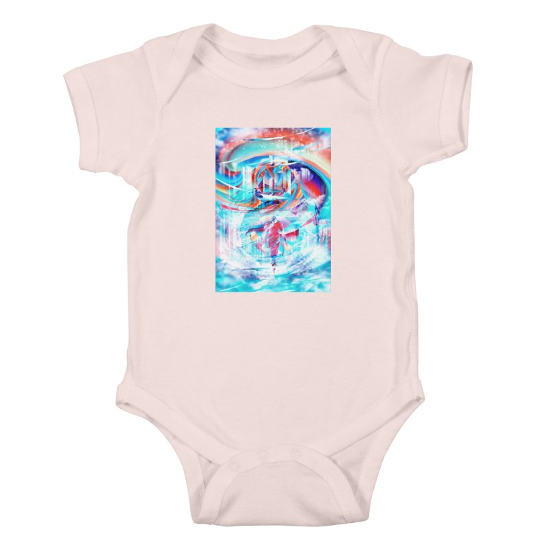 Artistic LXIV - Transcendence Kids Baby Bodysuit by Abstract designs
