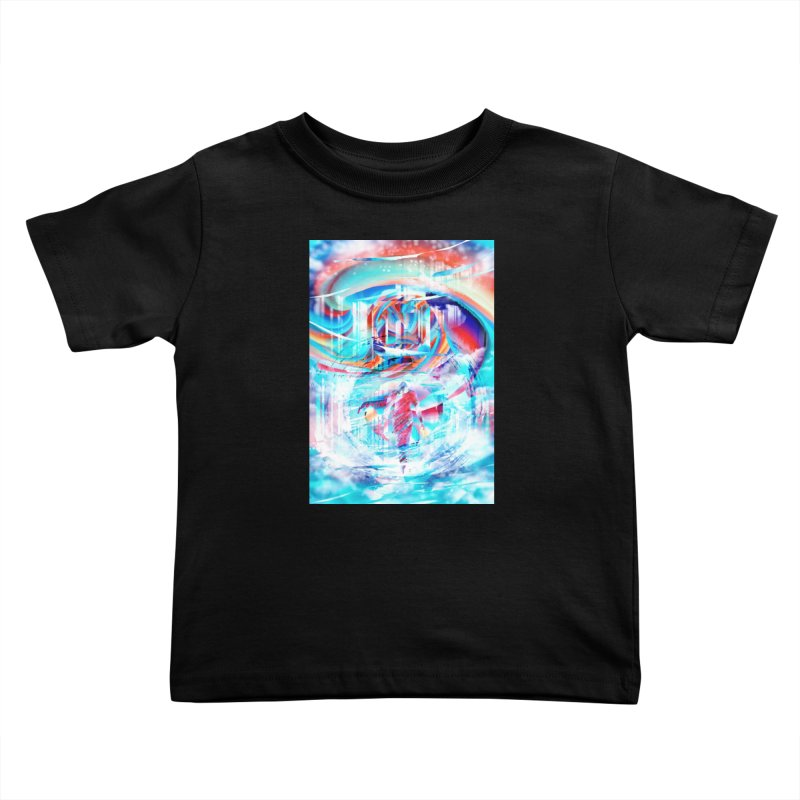 Artistic LXIV - Transcendence Kids Toddler T-Shirt by Abstract designs