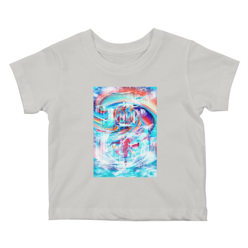 Artistic LXIV - Transcendence Kids Baby T-Shirt by Abstract designs
