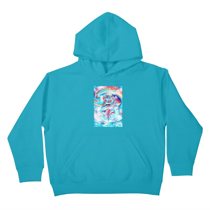 Artistic LXIV - Transcendence Kids Pullover Hoody by Abstract designs