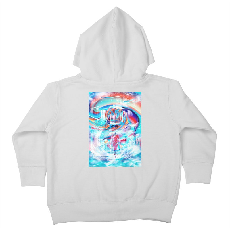 Artistic LXIV - Transcendence Kids Toddler Zip-Up Hoody by Abstract designs