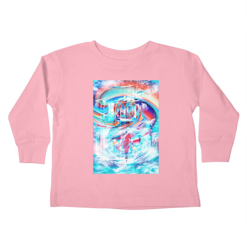 Artistic LXIV - Transcendence Kids Toddler Longsleeve T-Shirt by Abstract designs