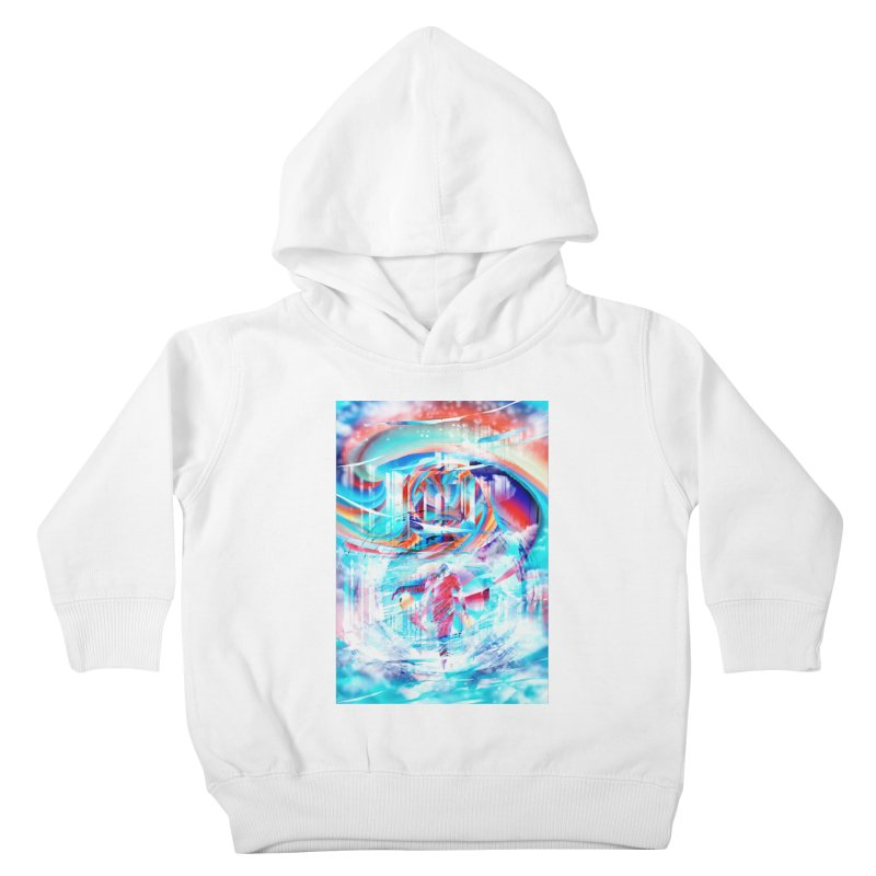 Artistic LXIV - Transcendence Kids Toddler Pullover Hoody by Abstract designs