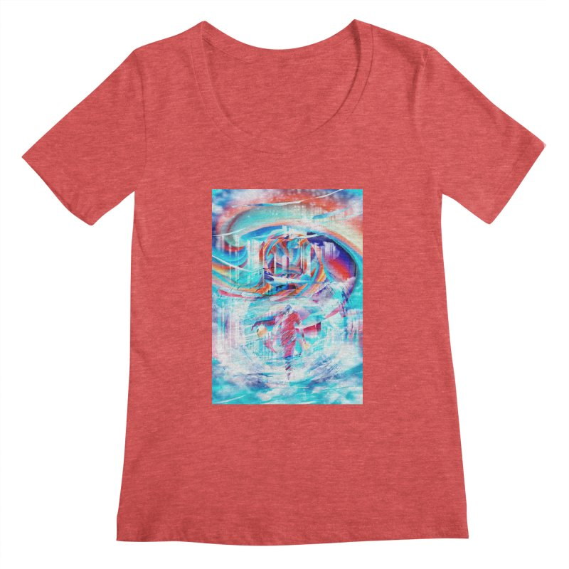 Artistic LXIV - Transcendence Women's Scoopneck by Abstract designs
