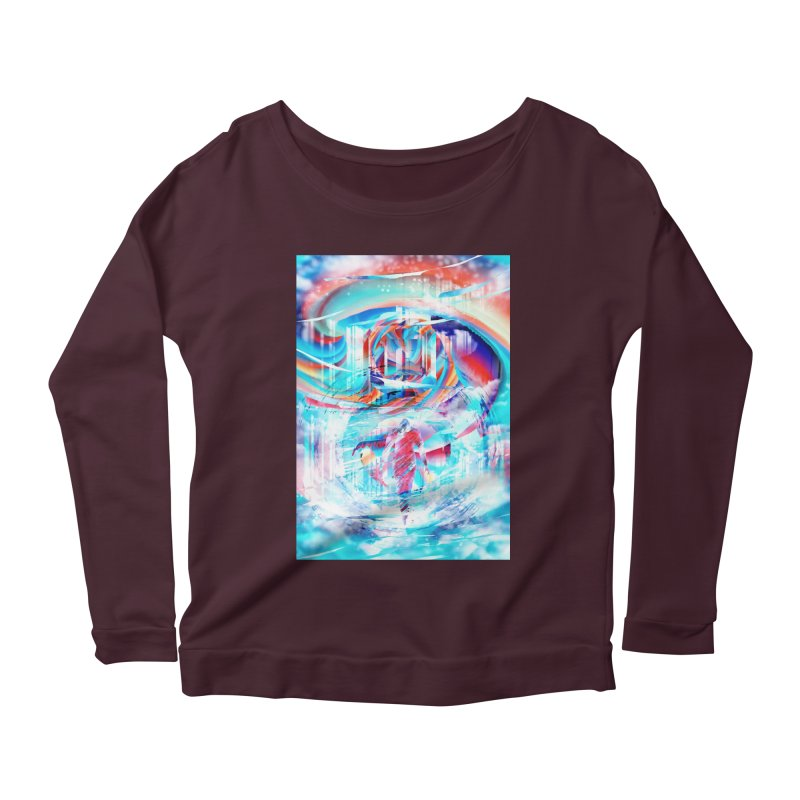 Artistic LXIV - Transcendence Women's Longsleeve Scoopneck  by Abstract designs