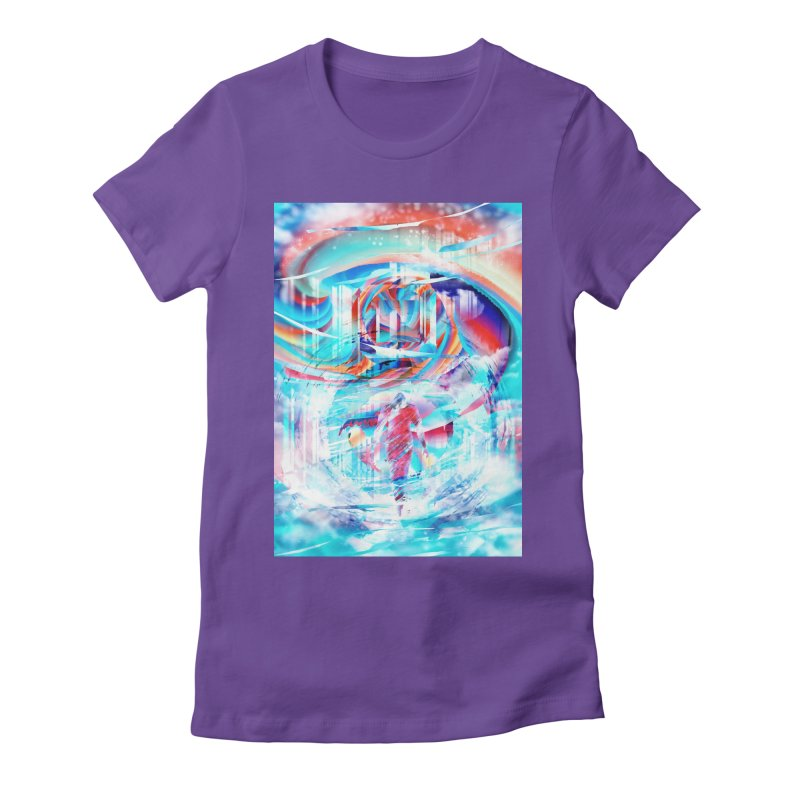 Artistic LXIV - Transcendence Women's Fitted T-Shirt by Abstract designs