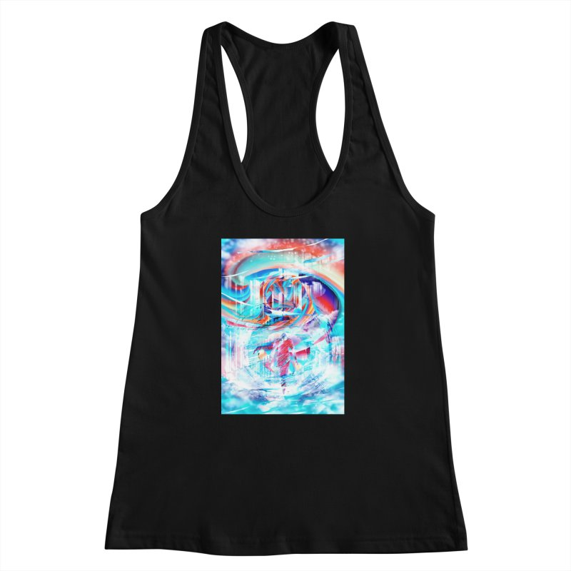 Artistic LXIV - Transcendence Women's Racerback Tank by Abstract designs