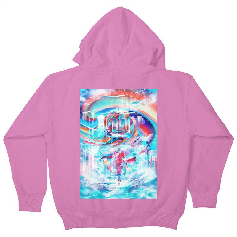 Artistic LXIV - Transcendence Kids Zip-Up Hoody by Abstract designs