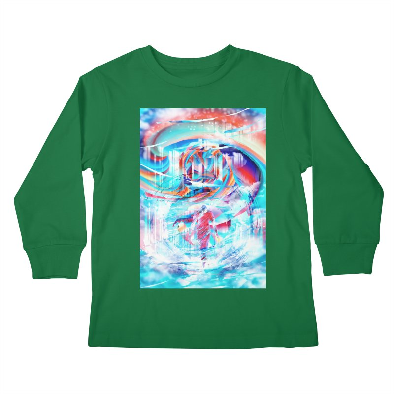 Artistic LXIV - Transcendence Kids Longsleeve T-Shirt by Abstract designs