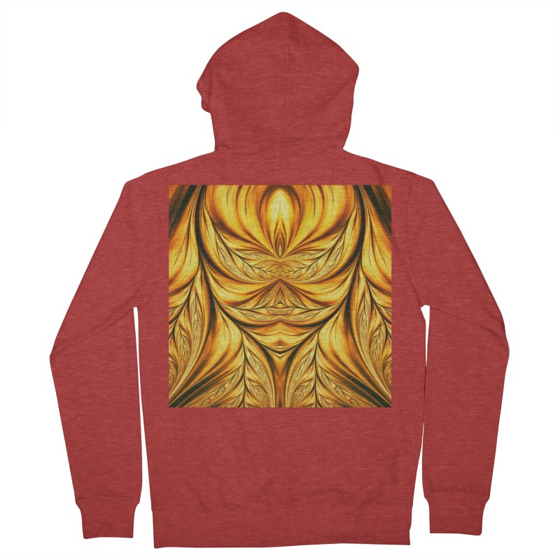 Fractal Art XIX Women's Zip-Up Hoody by Abstract designs