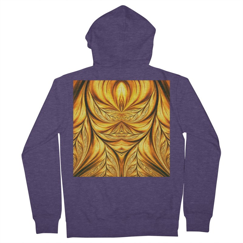 Fractal Art XIX Men's Zip-Up Hoody by Abstract designs