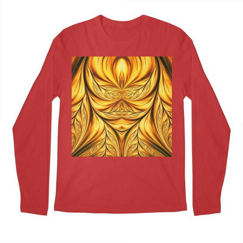 Fractal Art XIX Men's Longsleeve T-Shirt by Abstract designs