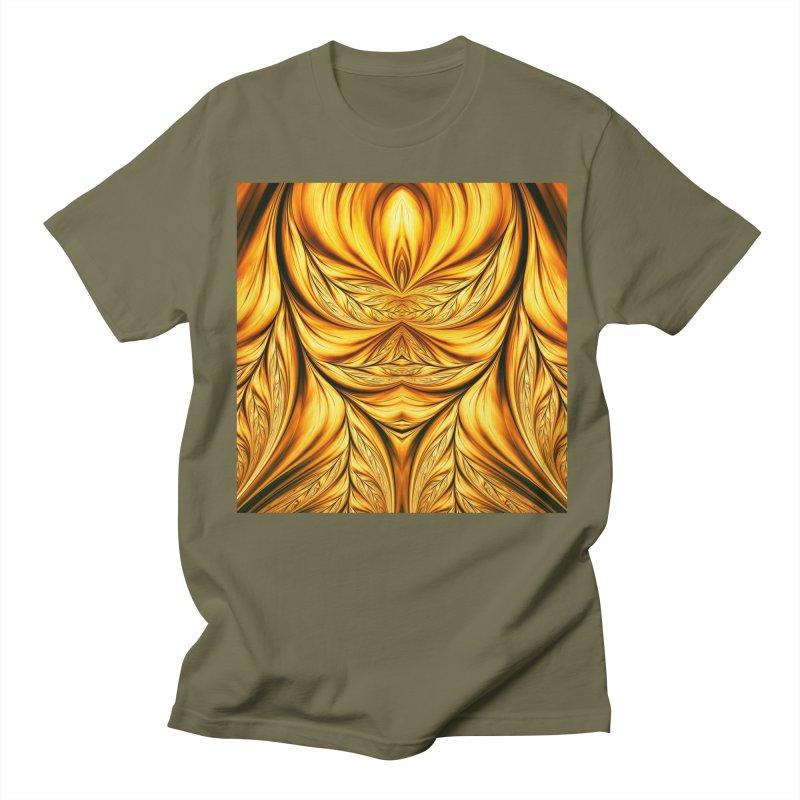 Fractal Art XIX Men's T-shirt by Abstract designs