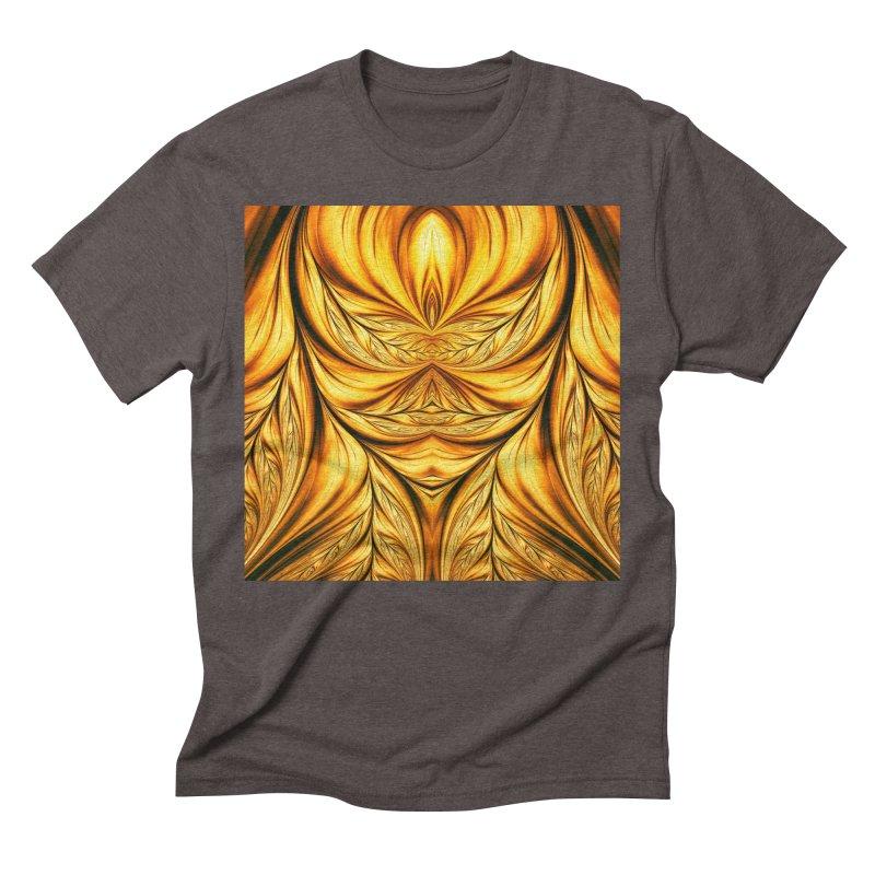 Fractal Art XIX Men's Triblend T-shirt by Abstract designs