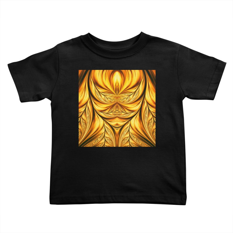 Fractal Art XIX Kids Toddler T-Shirt by Abstract designs
