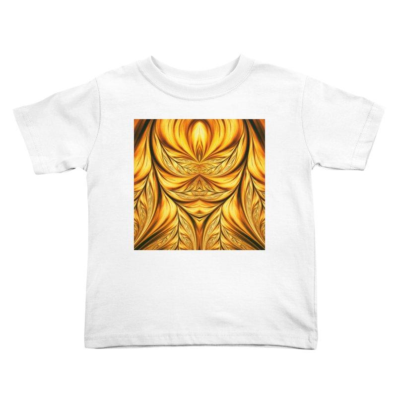 Fractal Art XIX Kids Toddler T-Shirt by Abstract designs