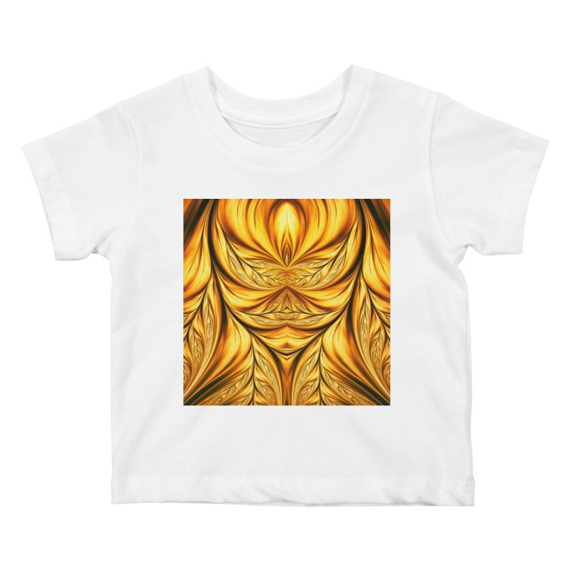 Fractal Art XIX Kids Baby T-Shirt by Abstract designs