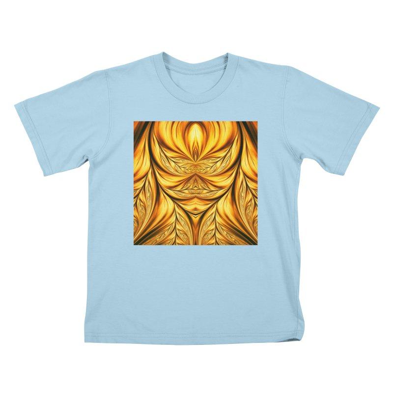 Fractal Art XIX Kids T-shirt by Abstract designs