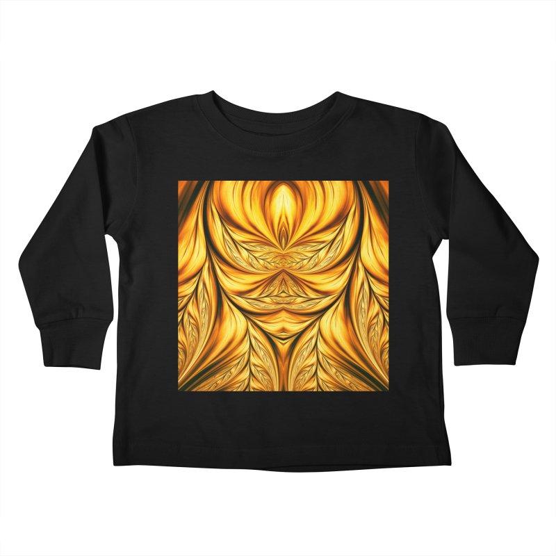 Fractal Art XIX Kids Toddler Longsleeve T-Shirt by Abstract designs