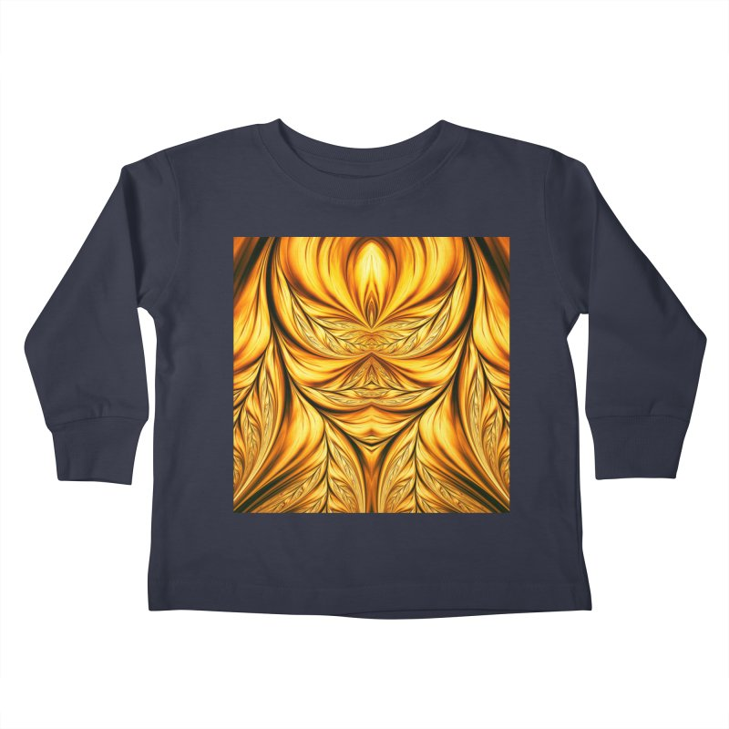 Fractal Art XIX Kids Toddler Longsleeve T-Shirt by Abstract designs