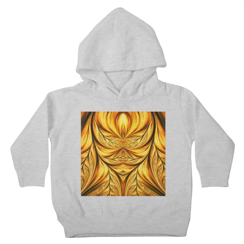 Fractal Art XIX Kids Toddler Pullover Hoody by Abstract designs