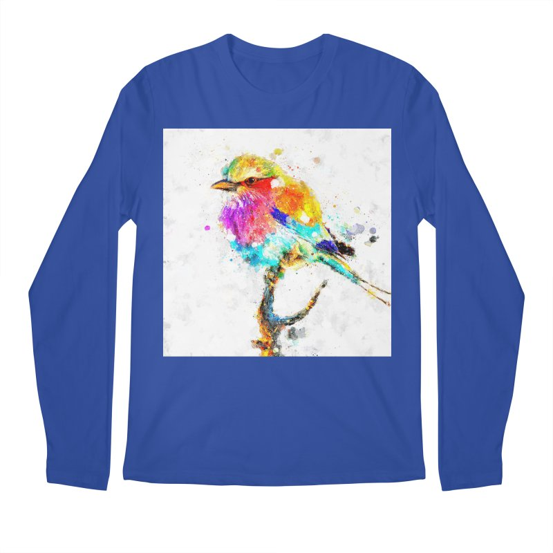 Artistic IV - Colorful Bird Men's Longsleeve T-Shirt by Abstract designs