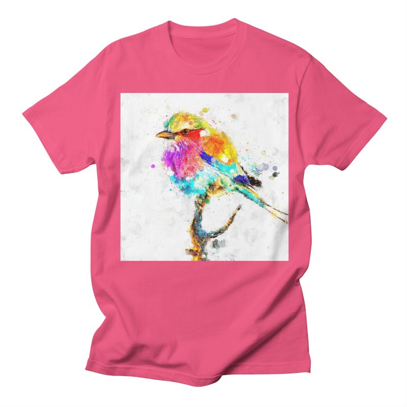 Artistic IV - Colorful Bird Women's Unisex T-Shirt by Abstract designs
