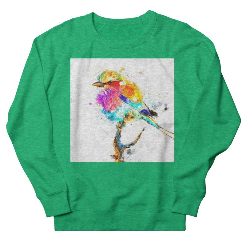 Artistic IV - Colorful Bird Women's Sweatshirt by Abstract designs
