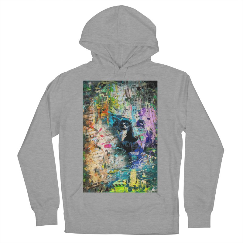Artistic OI - Albert Einstein II Women's Pullover Hoody by Abstract designs