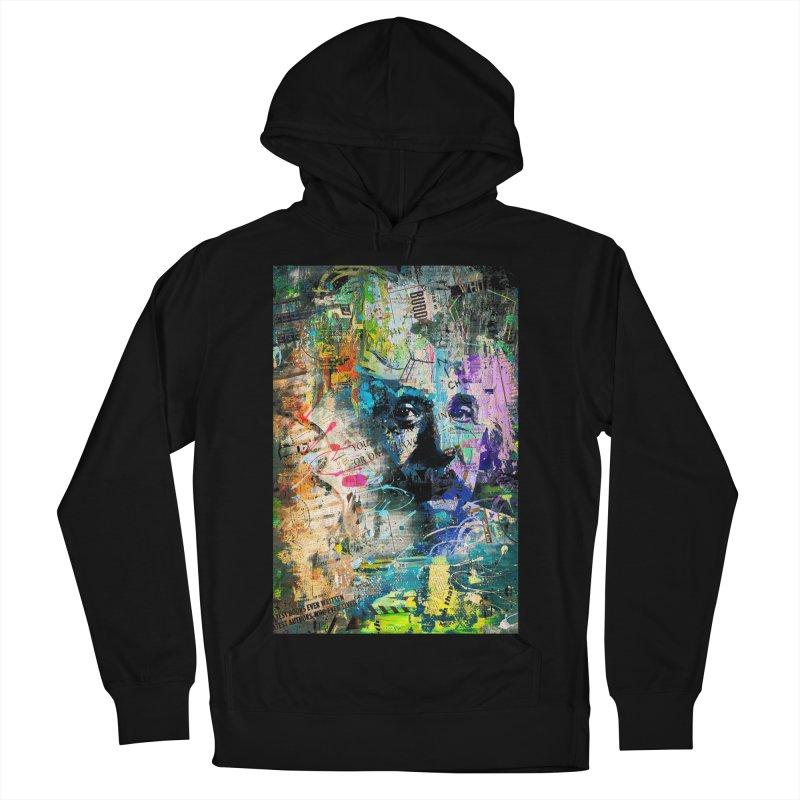 Artistic OI - Albert Einstein II Men's Pullover Hoody by Abstract designs