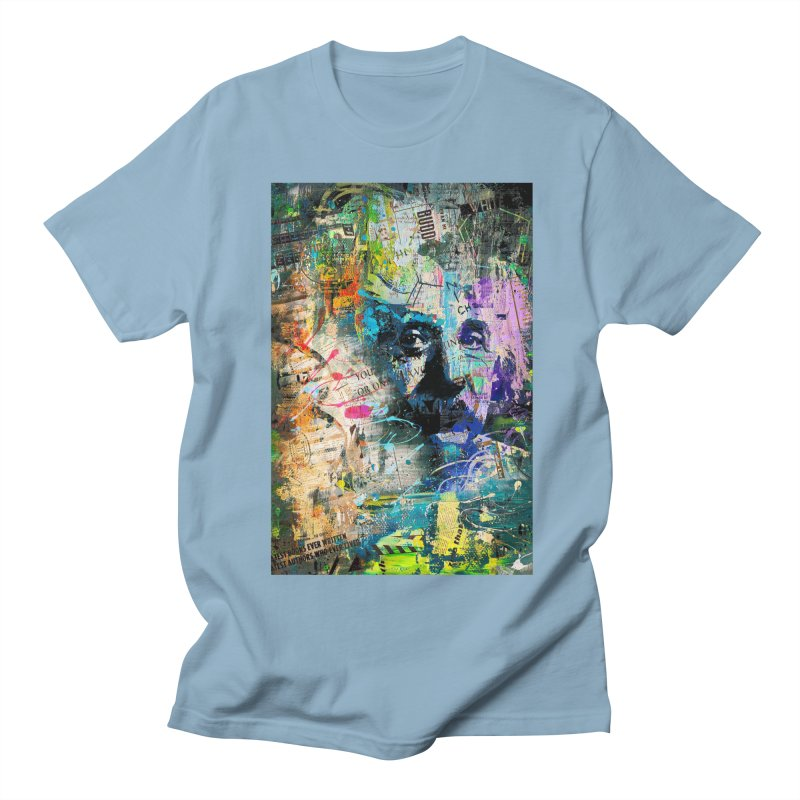 Artistic OI - Albert Einstein II Men's T-Shirt by Abstract designs