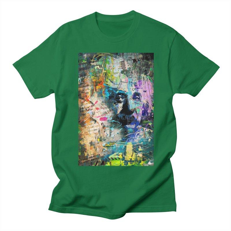 Artistic OI - Albert Einstein II Women's Unisex T-Shirt by Abstract designs