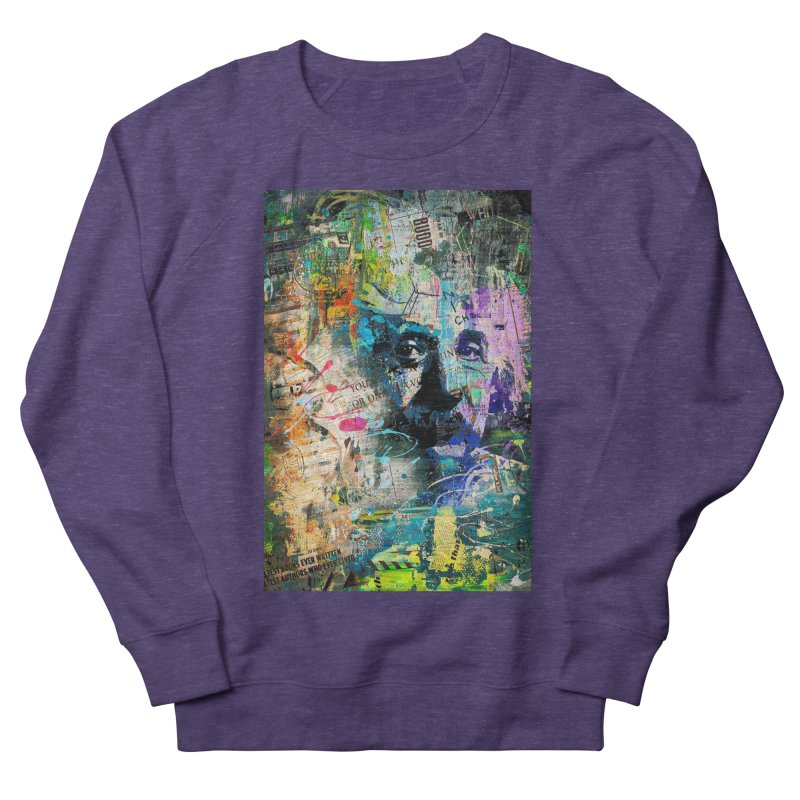 Artistic OI - Albert Einstein II Women's Sweatshirt by Abstract designs