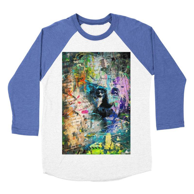 Artistic OI - Albert Einstein II Women's Baseball Triblend T-Shirt by Abstract designs