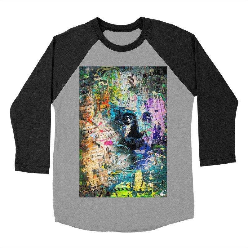 Artistic OI - Albert Einstein II Men's Baseball Triblend T-Shirt by Abstract designs