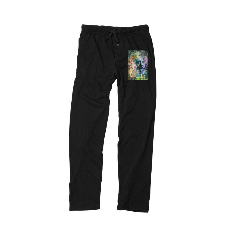 Artistic OI - Albert Einstein II Men's Lounge Pants by Abstract designs