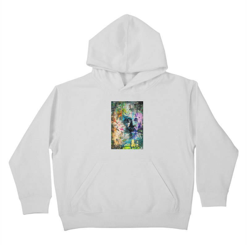 Artistic OI - Albert Einstein II Kids Pullover Hoody by Abstract designs